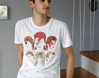 I MISS BOWIE tee