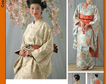 Simplicity 4080 Misses Geisha Costume: Kimono   - uncut -