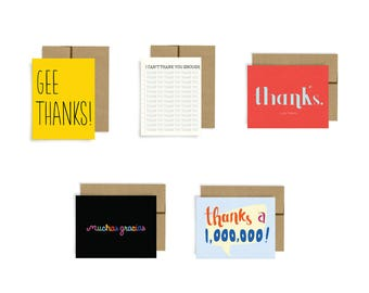 Boxed Set, Thank You Cards