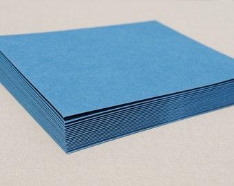 Bright Blue Envelope Set / Envelopes without Cards / Envelopes for Cardmaking / A2 Envelopes / Cobalt Blue Royal Blue / Colorful Envelopes