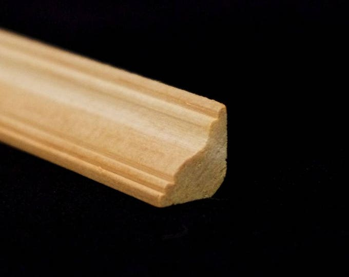 Groin, wood nature untreated, for the doll's house, for the model, for the Krippenbau # 23566