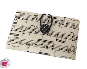 Cellphone pouch music love, Iphonesleeve
