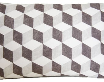 Geometrical Pattern Cubes Cushion Cover Modern Design Pillow Throw Case Osborne And Little Fabric Balyan