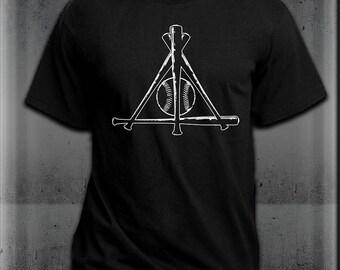 Deathly Hallows Baseball Harry Potter T-Shirt