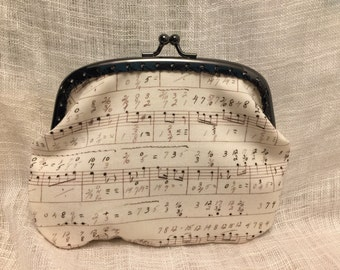 Large Music Coin Purse