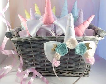 Unicorn Party Theme - Unicorn Themed Party Headbands - Unicorn Birthday Favor -  Pack of 20