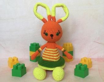 Crochet bunny, amigurumi bunny, animal bunny, stuffed bunny, soft bunny, crochet toys, knit binny, crochet rabbit, stuffed rabbit, bunny