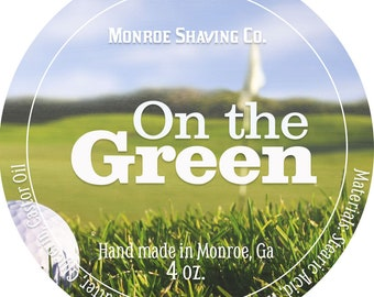 On the Green Shaving Soap 4.5 oz
