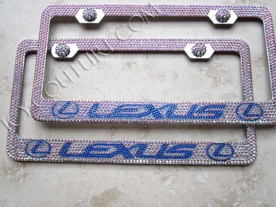 Exelent Swarovski License Plate Frames Motif - Frames Ideas ...