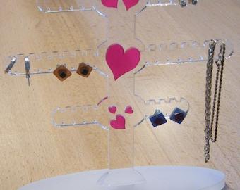 personalized earrings display