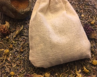 Organic Bath Tea-Relaxing Spa-Lavender, Chamomile, Calendula, Peppermint, Salts