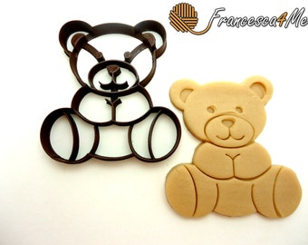 Teddy Bear Cookie Cutter/Multi-Size