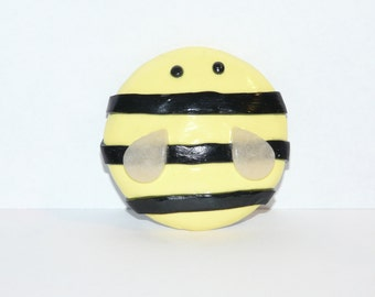 Lady Bug, Bumble Bee, Pokeball Pocket Mirror / Polymer Clay / 2 inch Mirror