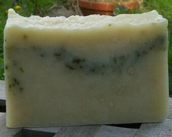 Handmade Shaving soap with Essential oils & Ground Nettle leaves. Mens Soap. Herbal Soap. Soap Gift. Shave Soap. Men's Grooming. UK Seller
