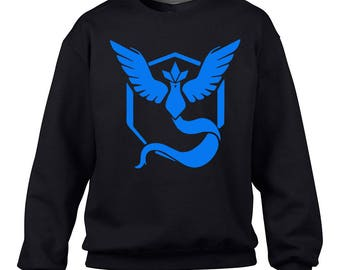 POKEMON GO - Team Mystic Crewneck Sweater