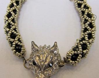 FiredDesires Studio Handmade Wolf Bracelet