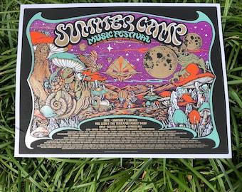 Summer Camp Music Festival poster