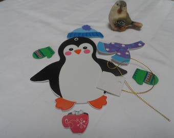 decorate your penguins for home decor Christmas tree party year end