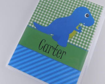 Boy Photo Album Dinosaur Grandmas brag book personalized baby album baby shower gift 4x6 or 5x7 picture Mothers Day Gift 711