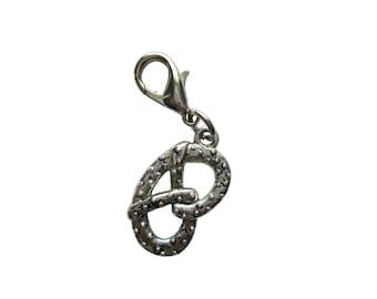 Pretzel pendant of charms charm bracelet Exchange trailer 3D trailers