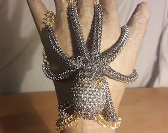 Chainmail Octopus Bracelet