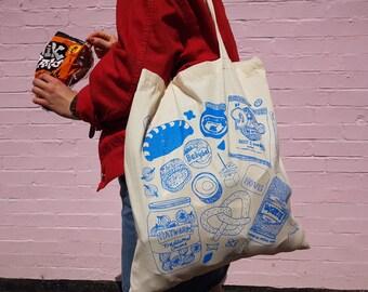 Indecisive Snacker Tote Bag