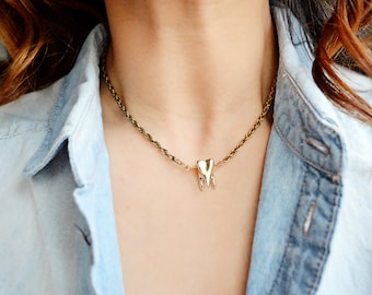 Gold Tooth Necklace