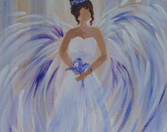 Angel Diana - Carrying Wisteria, bliss, love and grace
