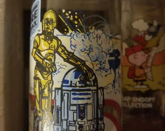 Vintage Empire Strikes Back drinking glass