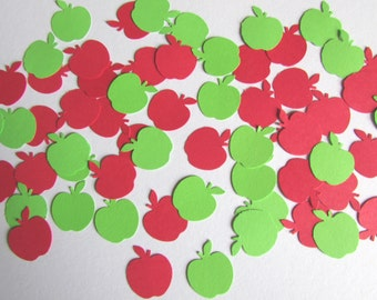 Apple Confetti | 200 Pieces | 1""