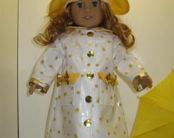 American Girl Doll Raincoat