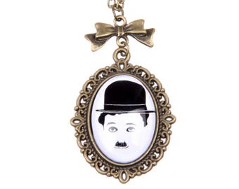 Charlie Chaplin Necklace,  1825C