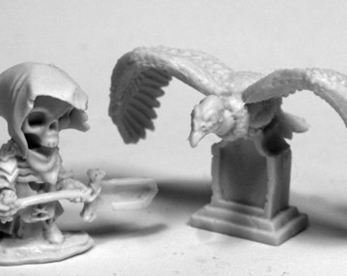 Mr. Bones and Buzzy - 77485 - Reaper Miniatures