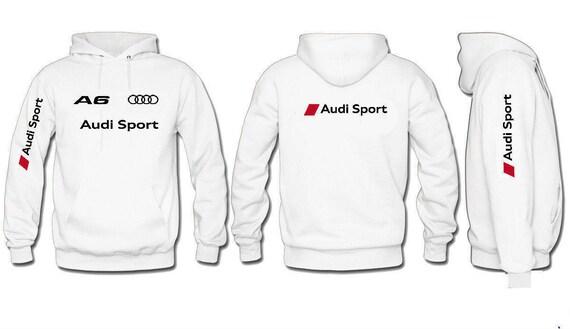 Audi Sport hooded sweatshirt A1 A3 A4 A5 A6 A7 A8 RS4 RS6 Q7 Q5 Q3 Q2 On3HZEGPw