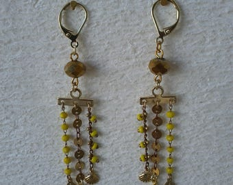 Dangling earrings - Spring collection - designer jewelry