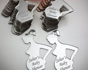 Baby Shower Magnet Mirror Favors nice to give as a remembrance