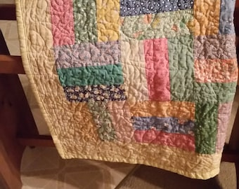 Baby Girl Quilt Cotton New