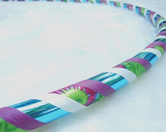 TiE DyEd Travel Hoop The 'Revolution' (In Teal) - Made YoUr Way - Pro Hoops. AfFoRdAbLe ShiPpiNg.
