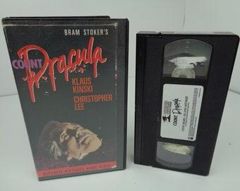 Bram Stoker's Count Dracula VHS Tape