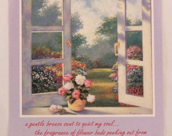 """New! Vintage """"Friend"""" Valentine's Day by DaySpring. 1 Card and Envelope."""