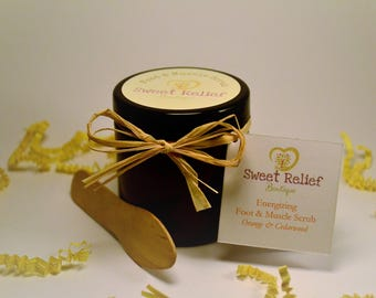 Energizing Foot and Muscle Scrub