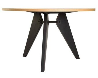 Gueridon table by Jean Prouve - Replica modern French design furniture - Imported