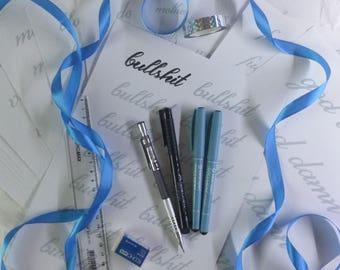 Jolkut calligraphy kit