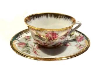 Porcelaine de Limoges petit construit, Mocca coupe, petite tasse Vintage France, porcelaine, moka, tasse moka en porcelaine, tasse