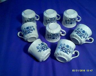 Set of Blue Danube Mugs