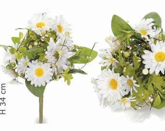 Daisies Artificial Flowers Bouquet