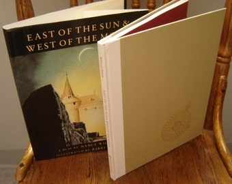 East of the Sun and West of the Moon A Play by Nancy Willard. Illustrated by Barry Moser. hardcover w/ dust jacket.  1st Edition  1989.