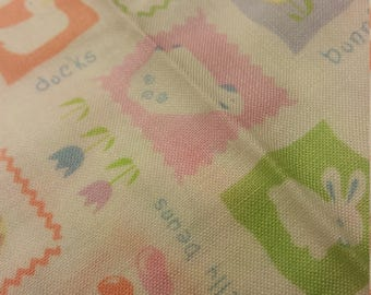 sweet easter print fabric
