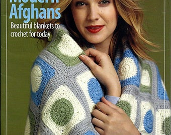 Deborah Norville Collection Modern Afghans Crochet Pattern Book