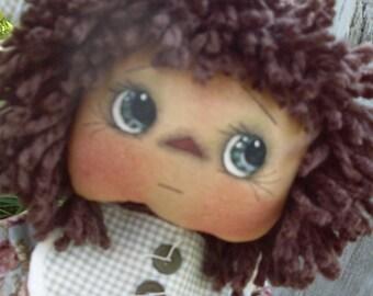 "Primitive Doll PATTERN ""Katie Anne"" KPC132"